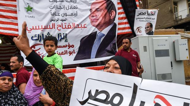 Abdelfatah Al Sisi se asegura un segundo mandato con el 97% de los votos válidos