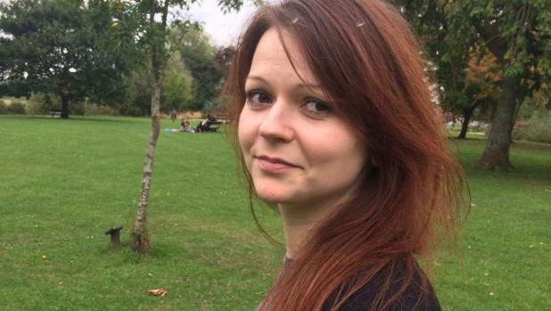 Yulia Skripal, hija del exespía ruso Serguéi Skripal