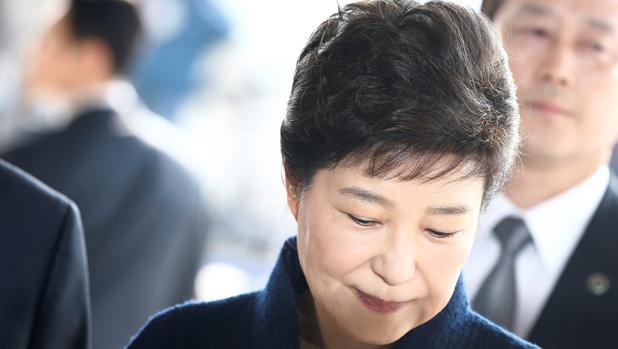 La expresidenta de Corea del Sur, Park Geun-hye, en una imagen de archivo