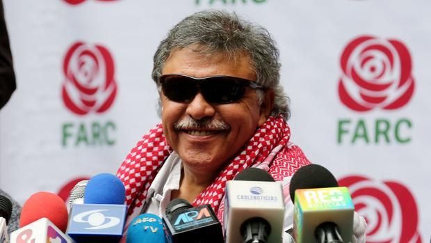El miembro del partido Fuerza Alternativa Revolucionaria del Común (FARC) Jesús Santrich
