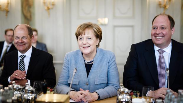 La canciller Merkel en un reciente consejo de su Gabinete