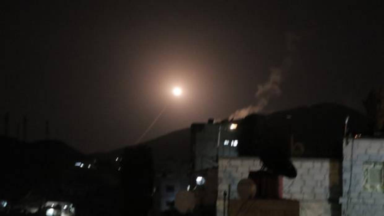 Primeras imágenes del ataque sobre Siria