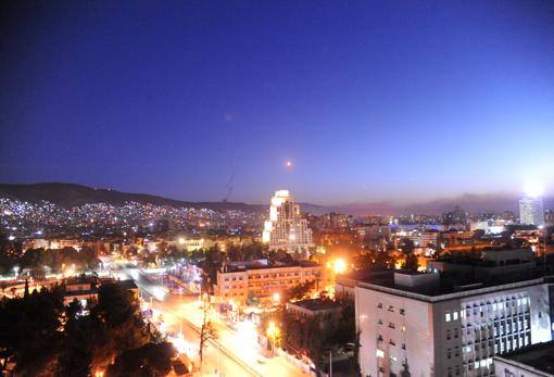 Misil sobre Damasco