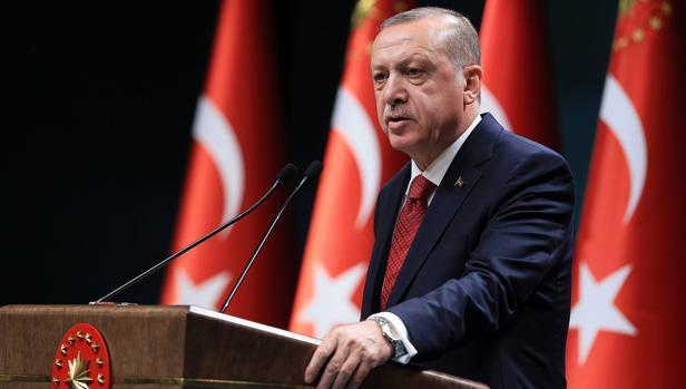 Recep Tayyip Erdogan, de 64 años, es presidente de Turquía desde 2014