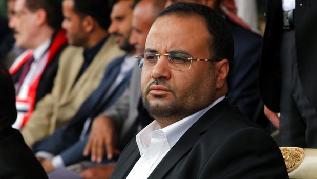 Saleh al Samad, presidente de el principal órgano ejecutivo de los rebeldes yemeníes hutíes
