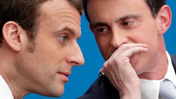 Macron empieza con Manuel Valls su plan de conquistar Europa