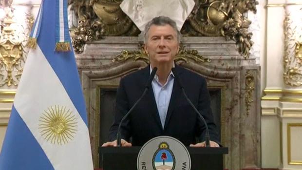 Macri, en su anuncio a los argentinos del crédito solicitado al FMI