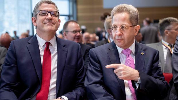 El presidente de la inteligencia interior alemana (la Oficina Federal para la Protección de la Constitución, BfV), Hans-Georg Maassen
