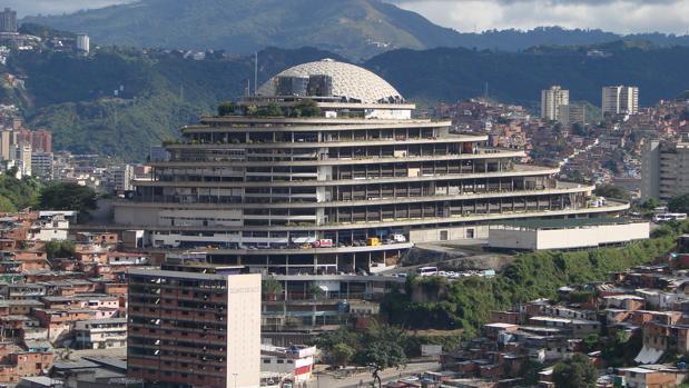 El Helicoide, sede del Servicio Nacional de Inteligencia Bolivariano (Sebin) en Caracas