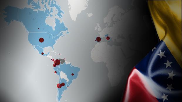 Venezuela se vacía: así se reparte el aumento del 900% de inmigrantes venezolanos por Iberoamérica