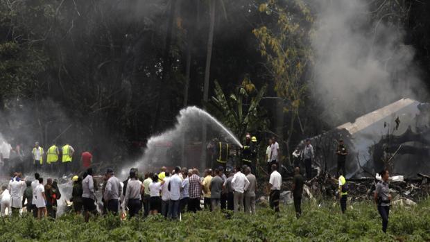 El Boeing 737-200, siniestrado el pasado viernes tras despegar del aeropuerto internacional José Martí, en La Habana