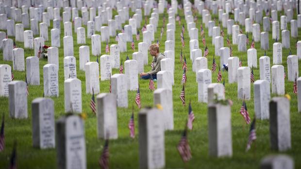 En Arlington no cabe un soldado más