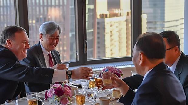 La mano derecha de Kim Jong-un se reúne con Pompeo para preparar la gran cumbre