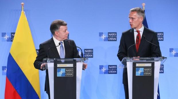 Venezuela califica de «amenaza» la llegada de Colombia a la OTAN