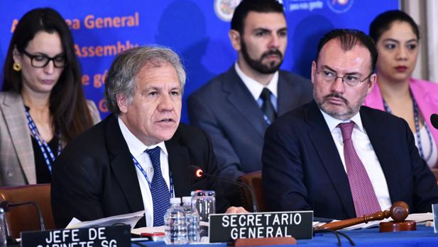 Almagro llama ante la Asamblea de la OEA a lograr un continente «libre de dictaduras»