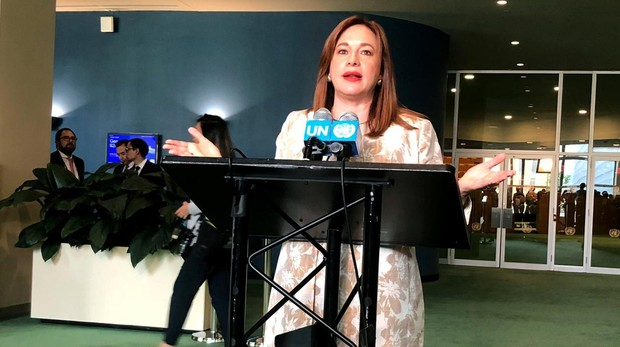 La canciller de Ecuador presidirá la Asamblea General de Naciones Unidas