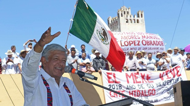 López Obrador dobla ya a su rival en intención de voto en México
