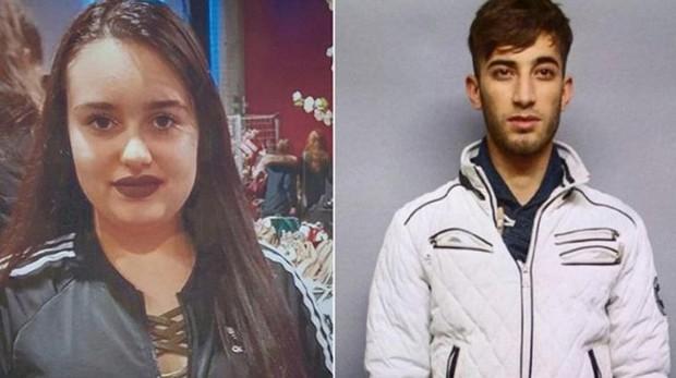 Ali Bashar, a la derecha, y su víctima, Susanna