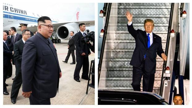 Trump y Kim Jong-un ya están en Singapur para su histórica cumbre del martes