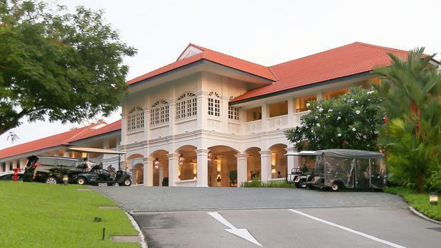 Vista general del hotel Capella, en la isla Sentosa, en Singapur