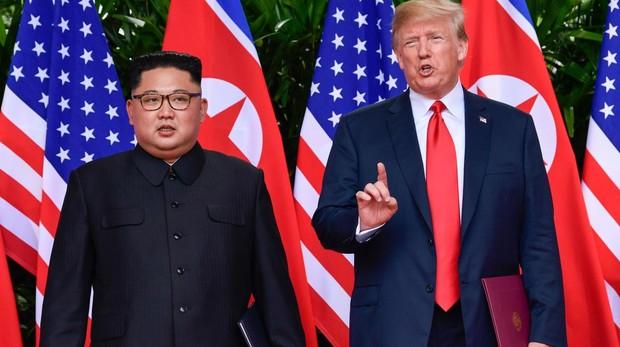 Kim Jong-un se compromete a desnuclearizar Corea a cambio de seguridad, pero sin dar fechas