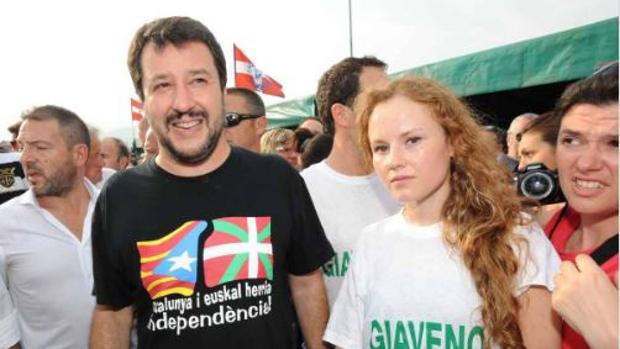 Salvini, el ministro que rechazó el Aquarius, un ferviente defensor de la independencia de Cataluña
