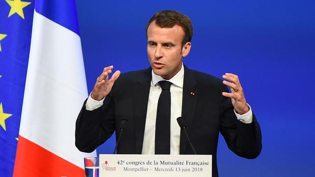 Macron, sobre las reformas: «Las ayudas sociales cuestan una pasta gansa»