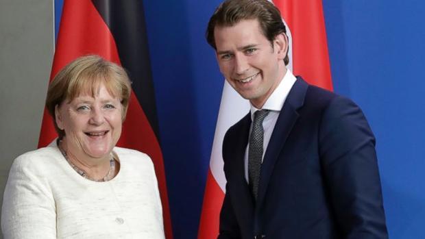 Merkel rechaza el pretendido eje de Alemania, Austria e Italia contra la migración ilegal en la UE