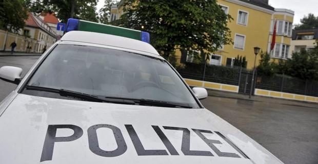 Coche de la policía alemana