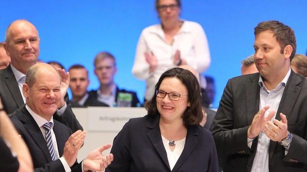 Los socialdemócratas alemanes bajan del 10% en las encuestas