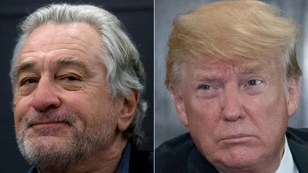 Trump contraataca a Robert de Niro: «Tiene un coeficiente intelectual muy bajo»