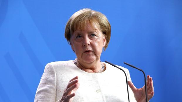 Merkel en una reunión centrada en los refugiados