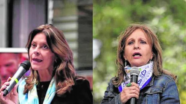 Dos mujeres compiten por la vicepresidencia por mérito propio