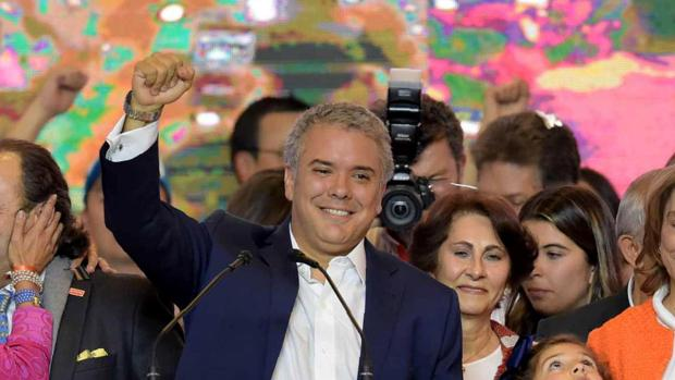 Triunfo histórico del conservador Iván Duque