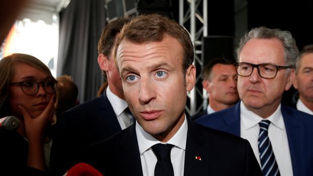 Macron denuncia la «lepra nacionalista» que amenaza los valores de Europa