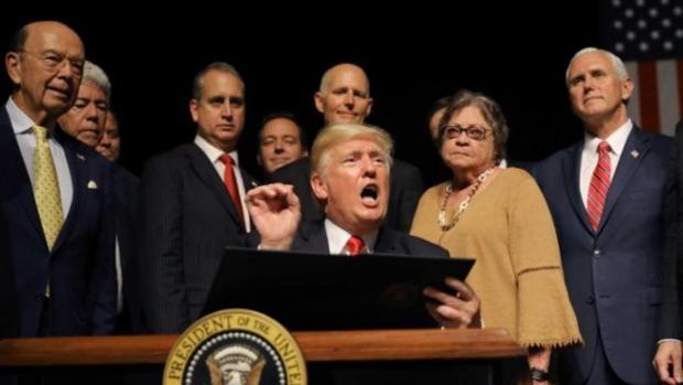 Un año de la Doctrina Trump para el continente americano