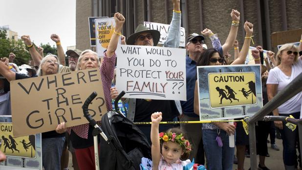 Trump defiende la deportación «inmediata» de los inmigrantes sin pasar por un juez