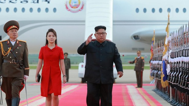El presidente de Corea del Norte, Kim Jong-un