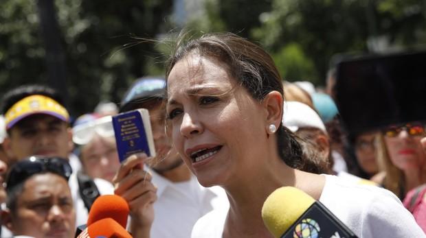 María Corina Machado niega supuesto plan de magnicidio contra Maduro