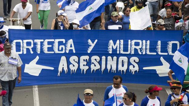 Un muerto y nueve heridos durante la marcha por los menores asesinados en Nicaragua