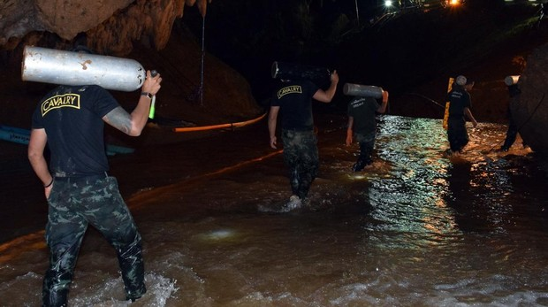 Claves para conocer la situación de los niños atrapados en una cueva de Tailandia