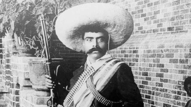 El revolucionario Emiliano Zapata, en 1910