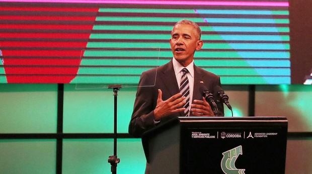 Obama participa en Madrid, junto a Casado y Rivera,  en una cumbre sobre Economía Circular