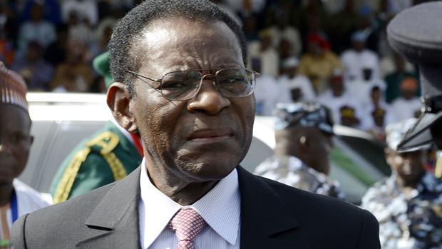 El presidente de Guinea Ecuatorial, Teodoro Obiang