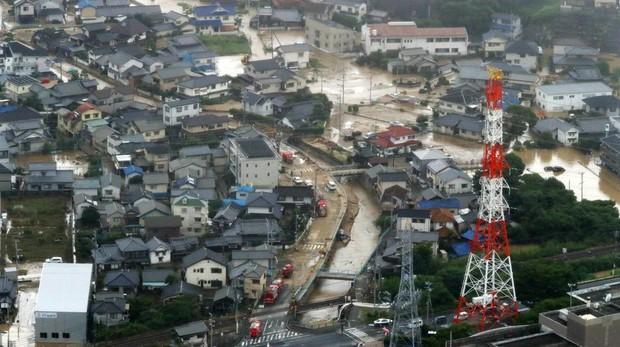 Al menos 46 muertos y más de 50 desaparecidos por las lluvias torrenciales en Japón