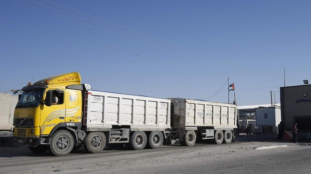 Israel cierra el único paso comercial con Gaza como advertencia a Hamás