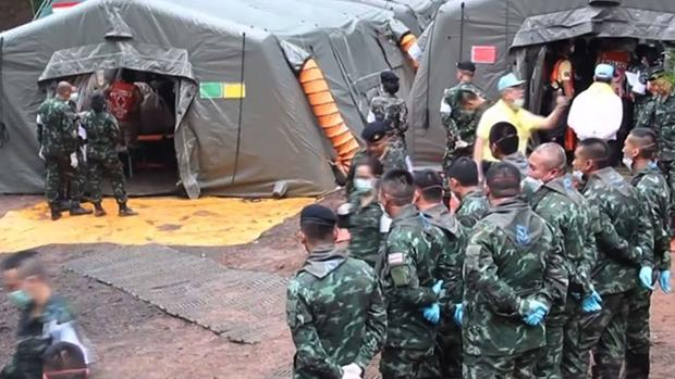 Tailandia se prepara para el segundo día del rescate en la cueva