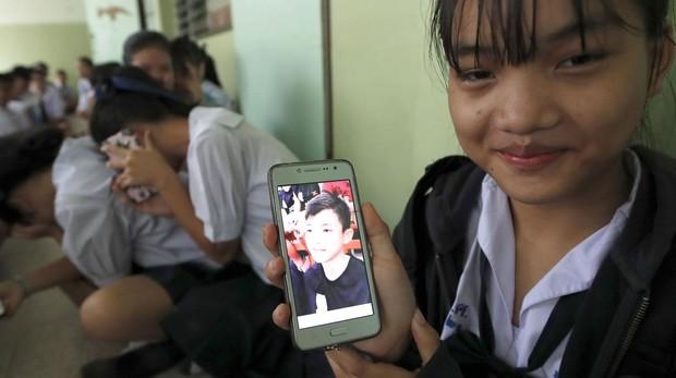 Los jóvenes rescatados de una cueva en Tailandia han perdido dos kilos de peso