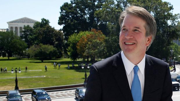 El candidato al Supremo, Brett Kavanaugh