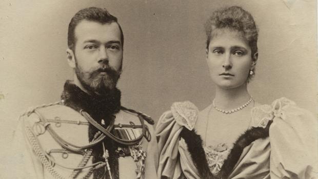 Nicolás II y su esposa, en una imagen fechada 1894